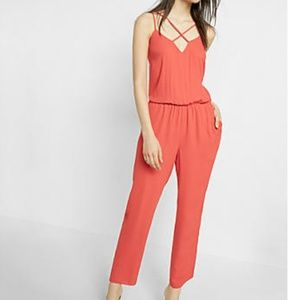 NWT- Express Strappy Jumpsuit